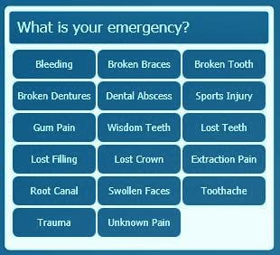 emergency dental blue